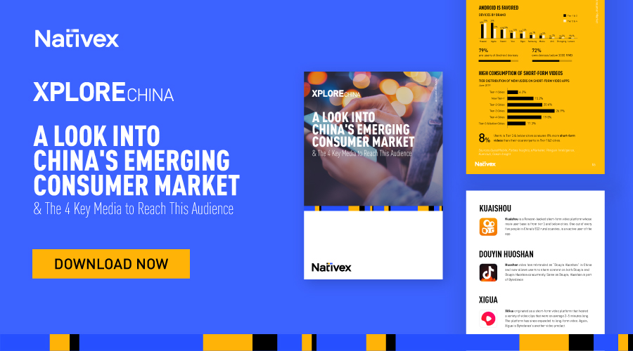 China's next wave of mobile growth is coming from Tier-3 cities and below. We'll show you how to reach this massive audience and achieve tangible success: https://t.co/Y4wbm64tai  #NativexEbooks #XploreChina #MarketingInChina #EmergingMarkets #MobileMarketing #MobileAdvertising https://t.co/fQZR4qATjw