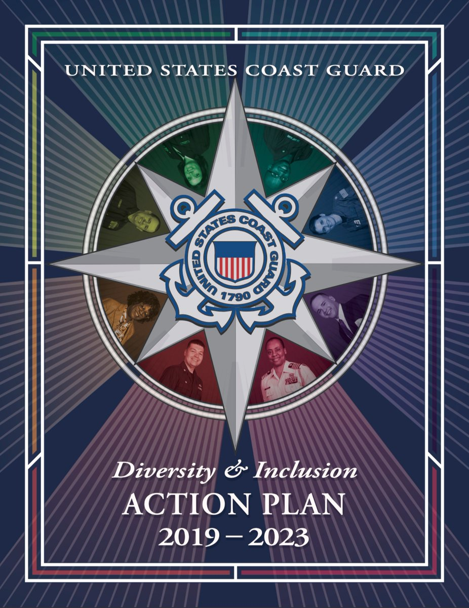 The #USCG continues to move forward and improve. @ComdtUSCG has just launched the 2019-2023 Diversity and Inclusion Action Plan. Click on the link to read more. dcms.uscg.mil/DIAP