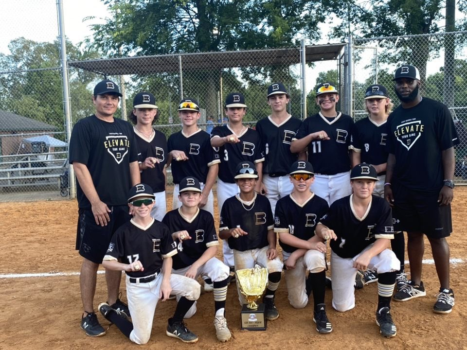 Very proud of our boys winning the Game 7 tournament in Nashville outscoring the field 64-6 with 14 homeruns 💣💣!!! Just what the club needed before heading down to the granddaddy of them all the Perfect Game World Series! @PerfectGameUSA https://t.co/MW2jcyRalz