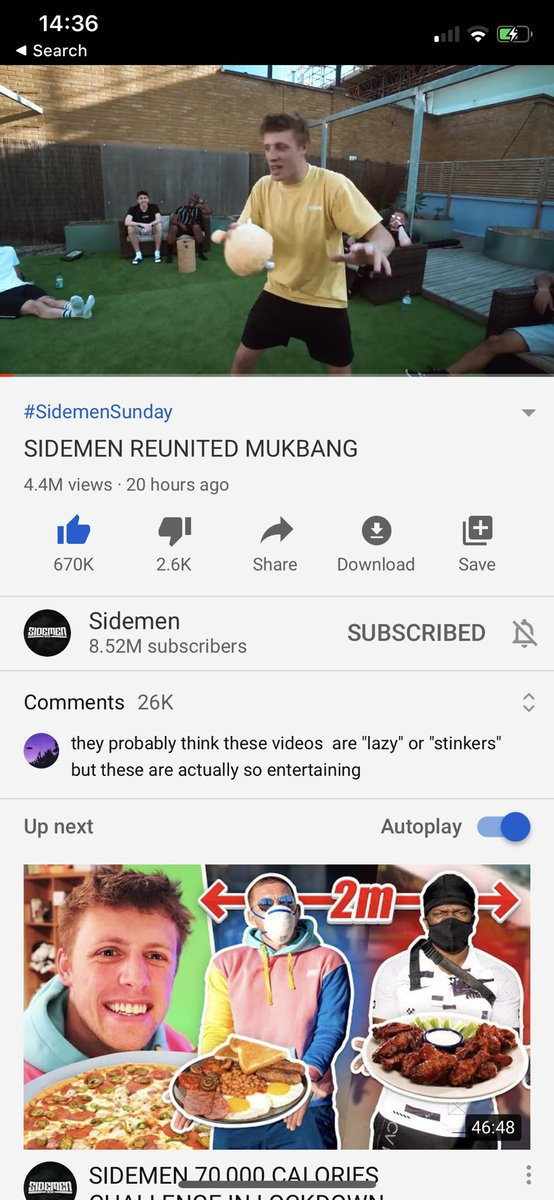 Jesus....You guys really want a sidemen football event next year 😅. Don't think we've ever got this many likes in such a short amount of time lol. Almost a million likes in less than a day lmao https://t.co/yZdicPN6cD