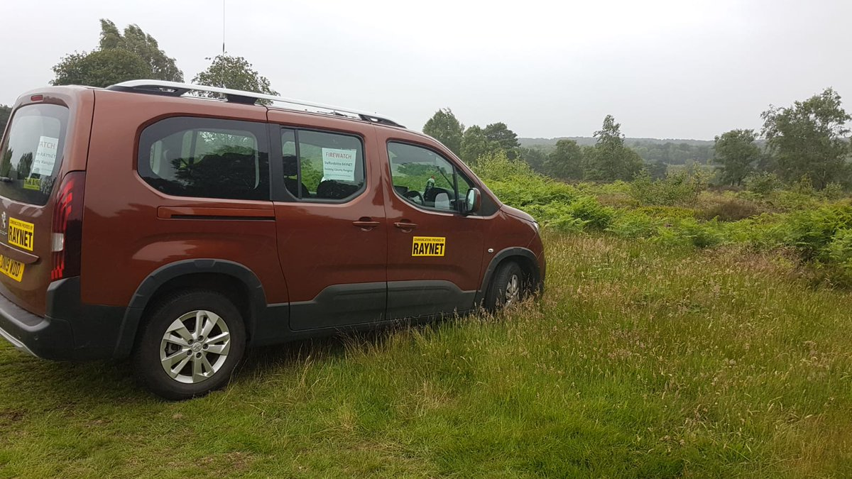Firewatch - Our volunteer radio operators are continuing with firewatch duties on #cannockchase this week. Although the weather is cooler and there has been some rain, many parts of the area are still very dry. https://t.co/Se0XRvihyr