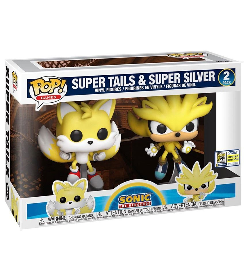 Funko SDCC 2020 Reveals: Pop! Games: Sonic https://t.co/DC9VgPViQj