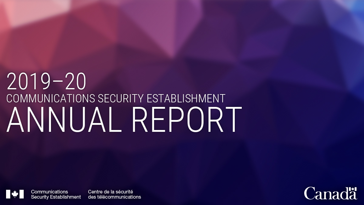 CSE's first-ever public unclassified Annual Report has been published!  Visit our website to read the full report: https://t.co/T7KNK9ob4p https://t.co/1lwevwzaoH
