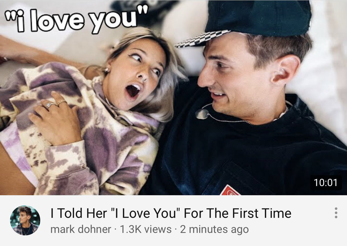 new vlog... Telling my best friend I love her 😂 go watch youtu.be/FfVGhQahkxA