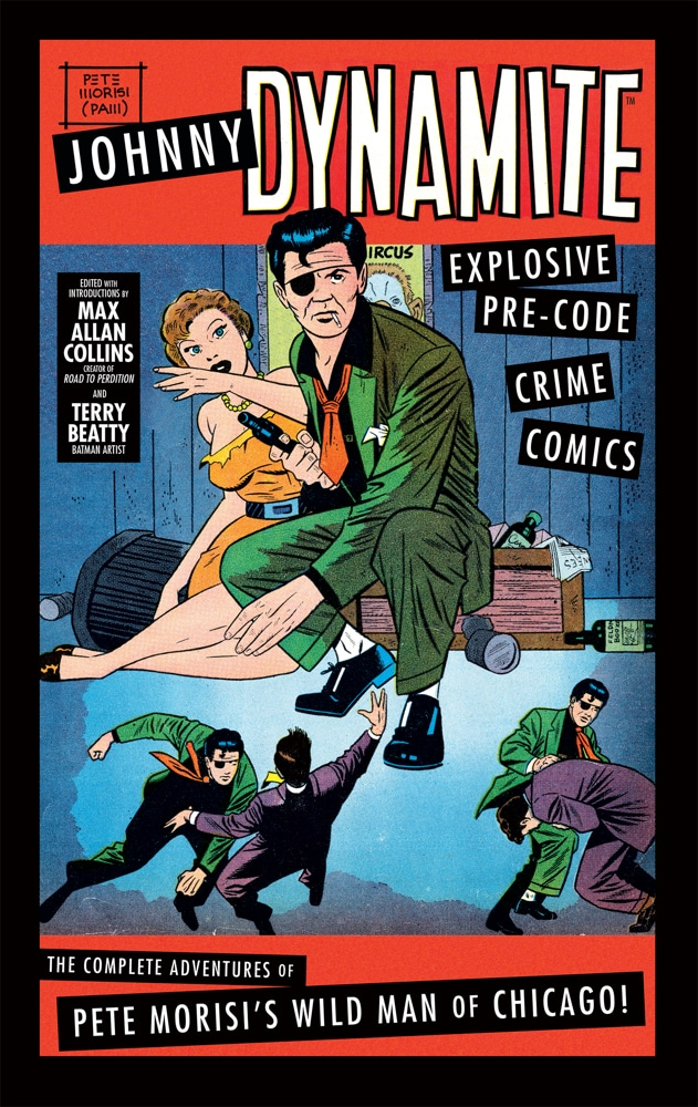 Fight crime alongside the one-eyed, two-fisted Chicago private eye in these comics from the early 1950s! Pick up JOHNNY DYNAMITE when it hits stores this week! https://t.co/CnldvbRI3M