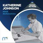 Image for the Tweet beginning: #HiddenNoMore Katherine Johnson, @NASA Mathematician  When