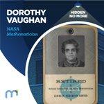 Image for the Tweet beginning: #HiddenNoMore Dorothy Vaughan, @NASA Mathematician