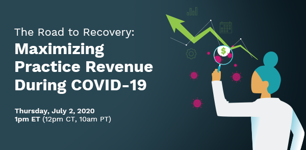"Join us on Thursday, July 2, for our next webinar, ""The Road to Recovery: Maximize Practice Revenue During COVID-19,"" when practice management expert @ewwoodcock will address actionable strategies for financial recovery. Sign up now: https://t.co/RidS1ff6lR https://t.co/2lWVTAlbIn"