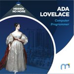 Image for the Tweet beginning: #HiddenNoMore Ada Lovelace, Computer Programmer