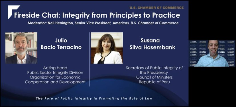 test Twitter Media - Happening now, fireside chat featuring #JulioBacia from the @OECD_Washington and @ssilvahasembank on Integrity from Principles to Practice. #GlobalROL https://t.co/zW4o1soKoX