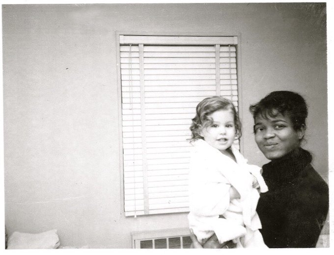 Happy birthday, Little Eva! Here she is babysitting when she was a child.