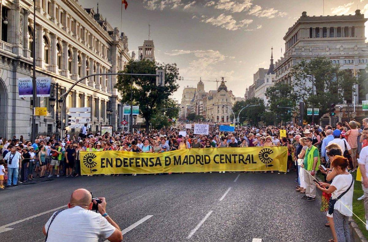 RT @AVCavas: Hoy hace un año que Madrid dijo: #MadridCentralSeQueda https://t.co/6VZ8qjhNeI