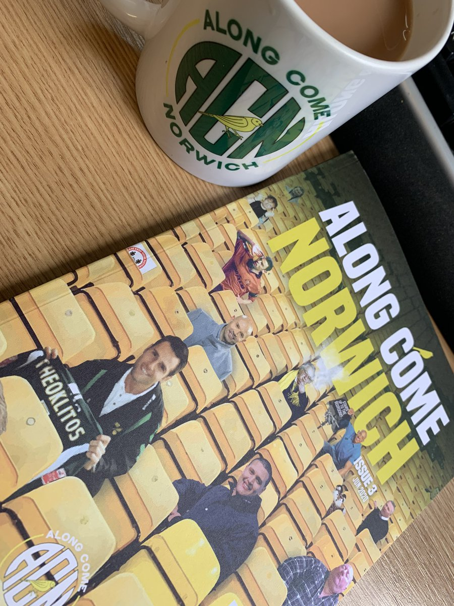 Thanks @AlongComeNodge for the new reading material, it will make my evening with the recruits here at HMS Raleigh much more enjoyable #ncfc #otbc