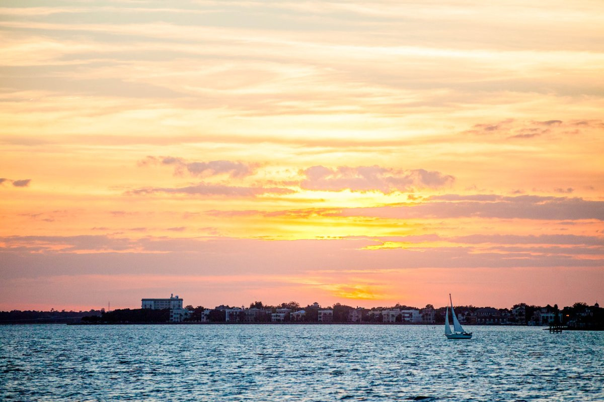 Set sail with @ChasOnTheWater & score a beautiful sunset view:  http:// bit.ly/38a319P      #TravelTuesday <br>http://pic.twitter.com/F6QKF8iO0C