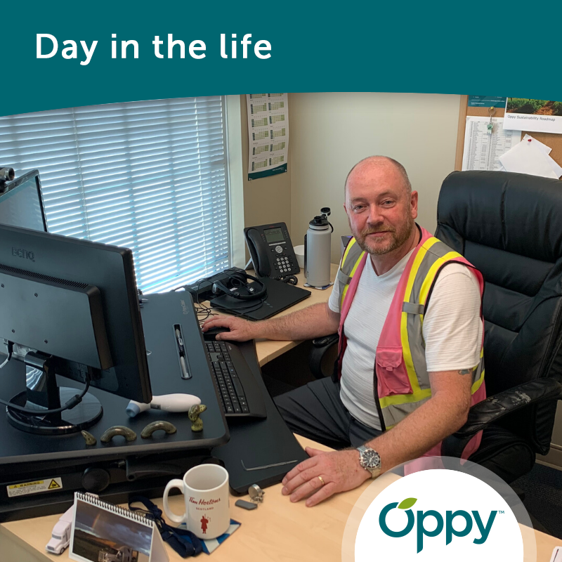 #DayInTheLife feature this month is Food Safety & Operations Manager Tom Stewart out of our Vancouver office! Get to know him here: https://t.co/cqxR1k1vwS  #OppyPeople #OnlyatOppy https://t.co/S46Kriwv15