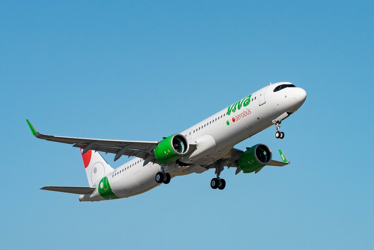 Glad to see @VivaAerobus joining as the latest #A321neo operator - a significant milestone for our long-standing partner and its passengers! https://t.co/WQcc7ITi3L