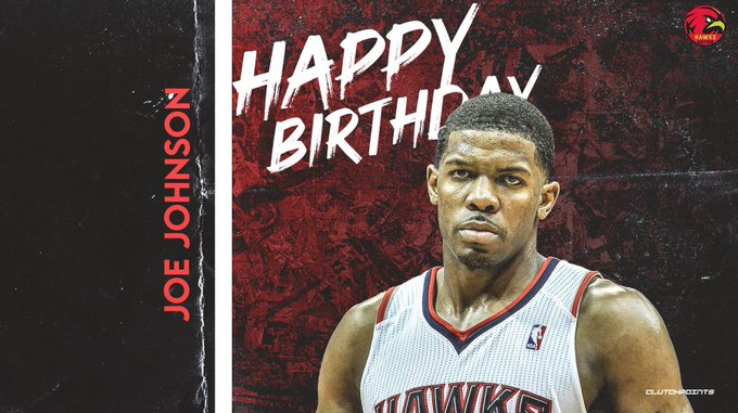 Join Hawks Nation in wishing 7x All-Star, Joe Johnson, a happy 39th birthday!