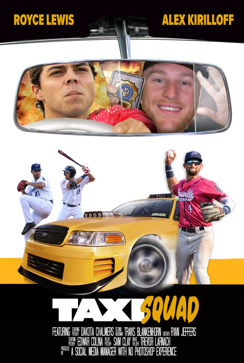 Taxi Squad. Coming to a ballpark near you.