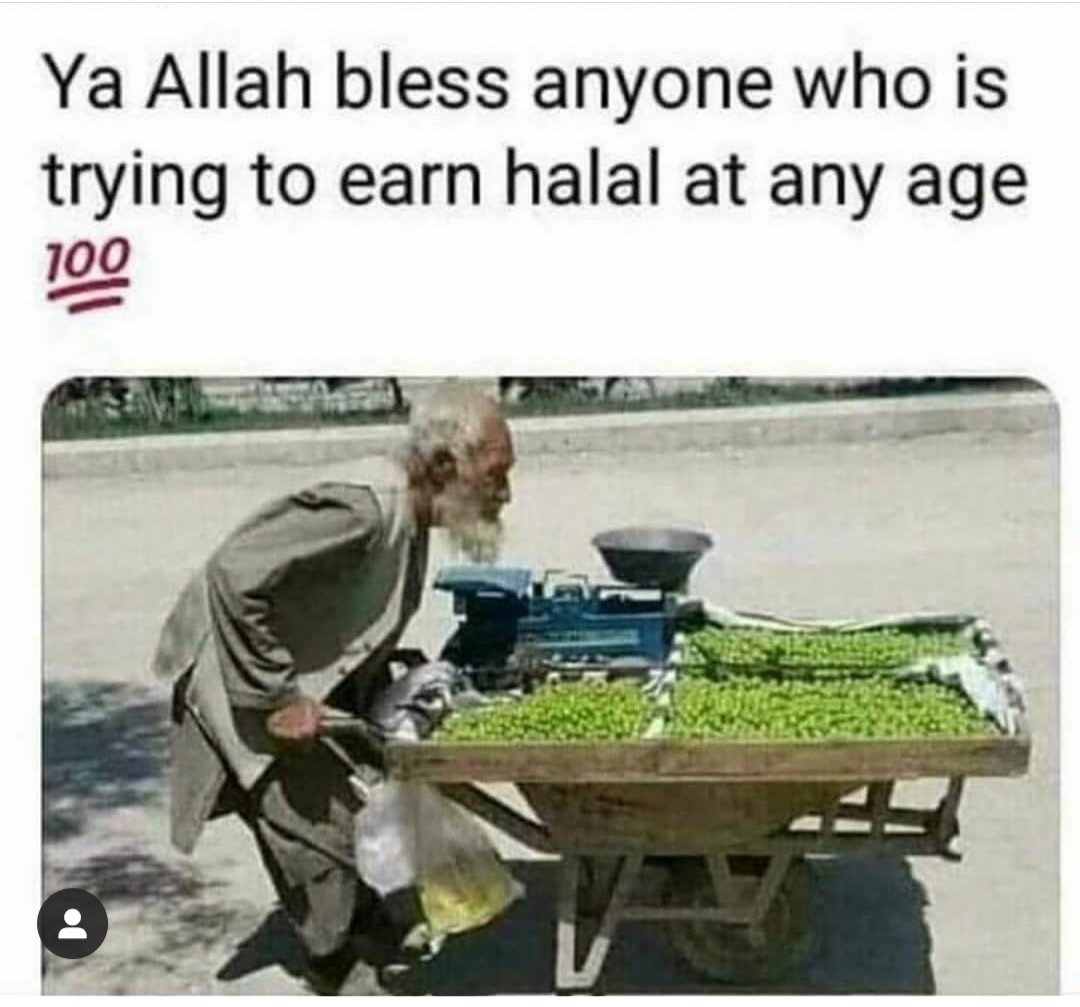 We may think he's not the richest guy, but i'm sure he has such much blessings in his life. May Allah bless us with blessings in our lives InshaAllah. 🙏 #dua #muslimah #ramadanmubarak #muslimahreminder #muslims #Quran #dawah #sunnah #sujood #ramadangoals #paramedics #dunya https://t.co/DEmyRJUFZ8