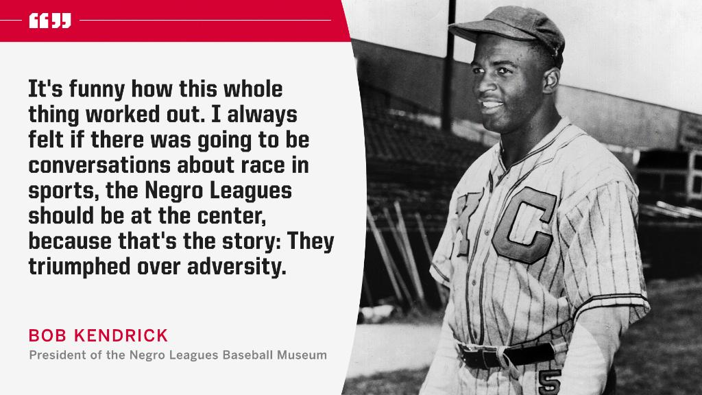 @espn's photo on Negro Leagues