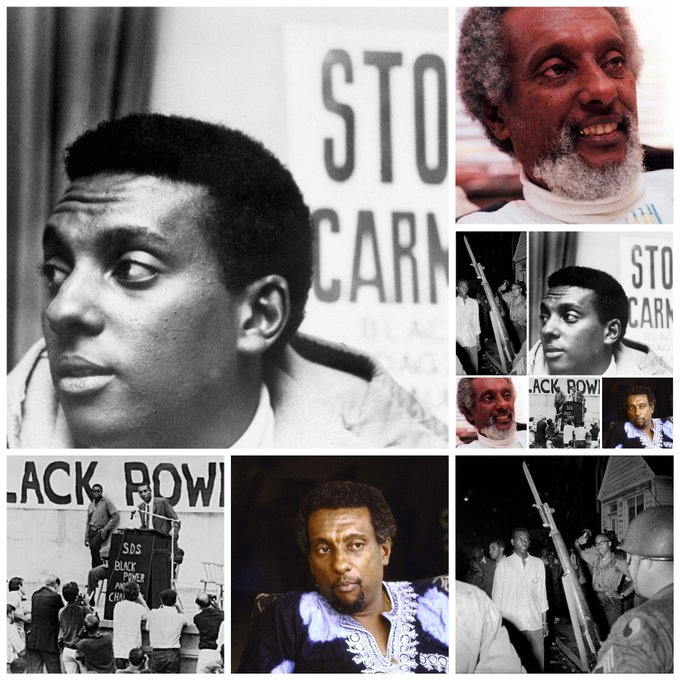 Happy Birthday Stokely Carmichael. Aka Kwame Ture .       June 29, 1941