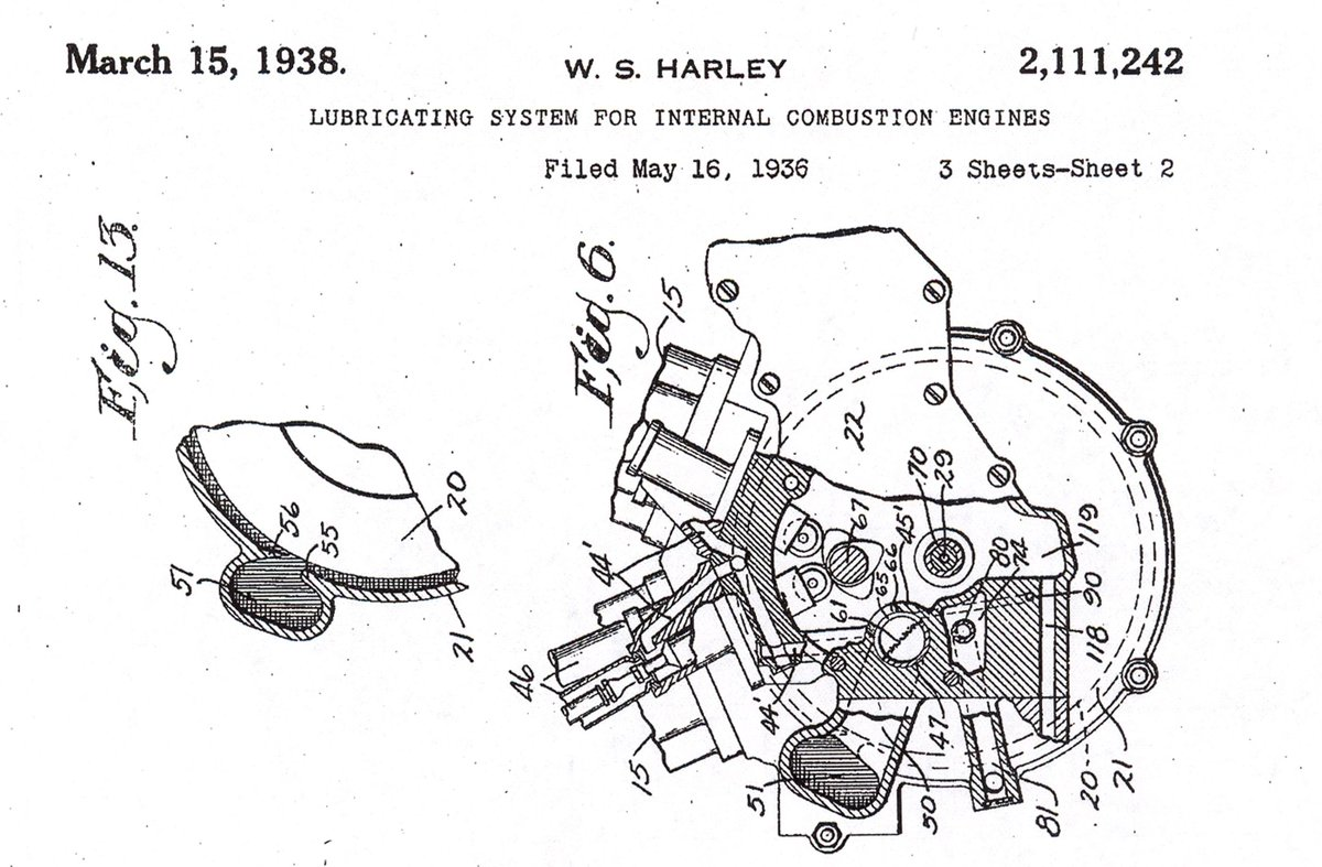 #MotorMonday: the patent filed that led to the #Knucklehead.   #HDMuseum #HarleyDavidson https://t.co/4xIBq7e1fZ