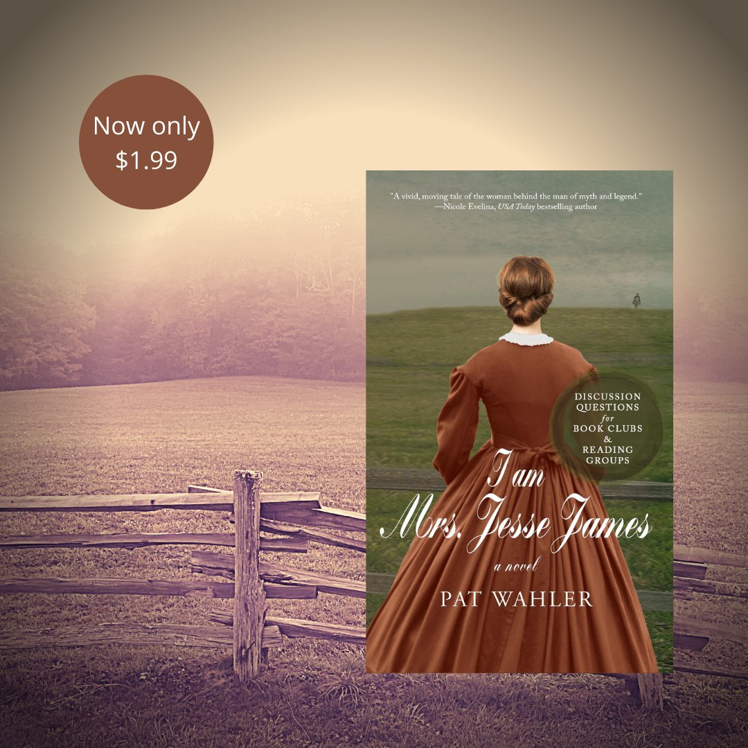 For Jesse James the war will never end. For the woman who becomes his wife, the war is only the beginning. Hurry! Sale ends soon. https://books2read.com/u/b681Mx #writercommunity #historicalfiction #readingcommunity #amreading #amwriting #histfic #booksale #bookpromo #bookpromotionpic.twitter.com/z02LbU0d41  by Pat Wahler 📚