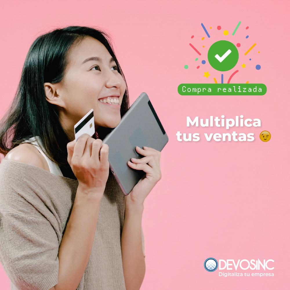 Entra a la era digital y llega a más clientes 😎 #DevosInc  #eCommerce https://t.co/dO8fVockXg