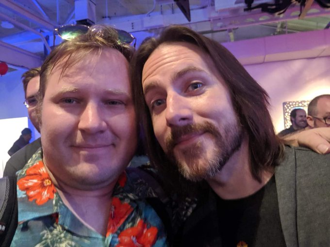 Happy birthday to Matthew Mercer, who has always shown me a charitable heart and kindness.