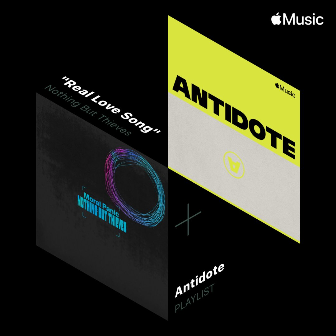 :: Thanks to @AppleMusic for including us in their 'Antidote' playlist, link here to listen https://t.co/8y5m3oeW8c :: https://t.co/fEd0m8IRls