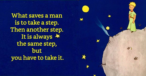 Happy birthday to Antoine de Saint-Exupery, author of THE LITTLE PRINCE,  born on this day in 1900.