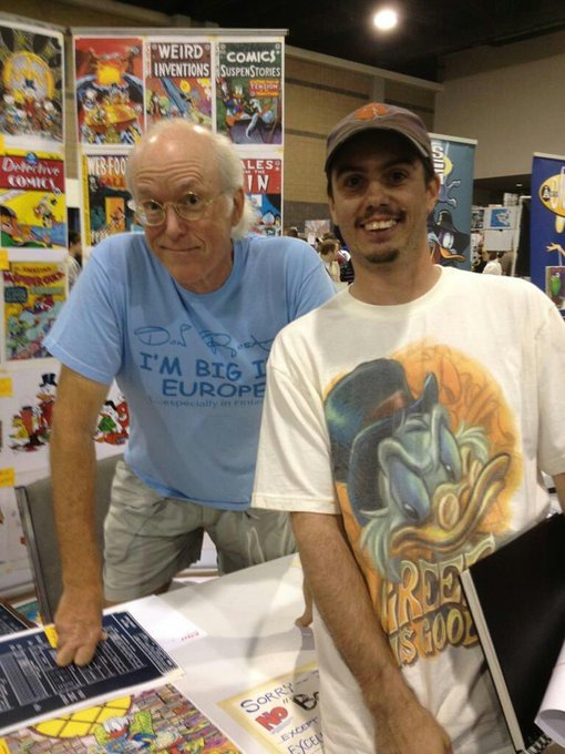Happy 69th Birthday to the man, the myth, the legend...Mr Don Rosa!
