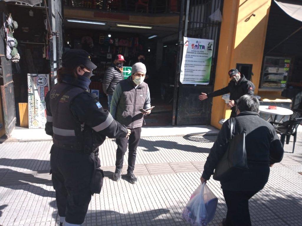 control municipalidad  ciudad centro protocolo mercado san miguel peatonal ciudad