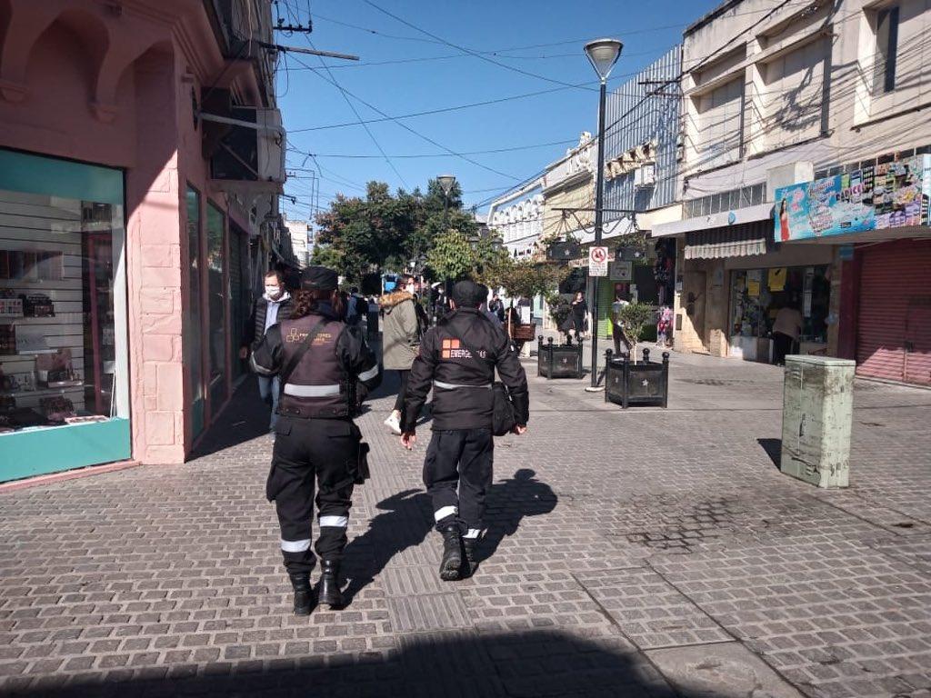 control municipalidad  ciudad centro protocolo peatonal ciudad