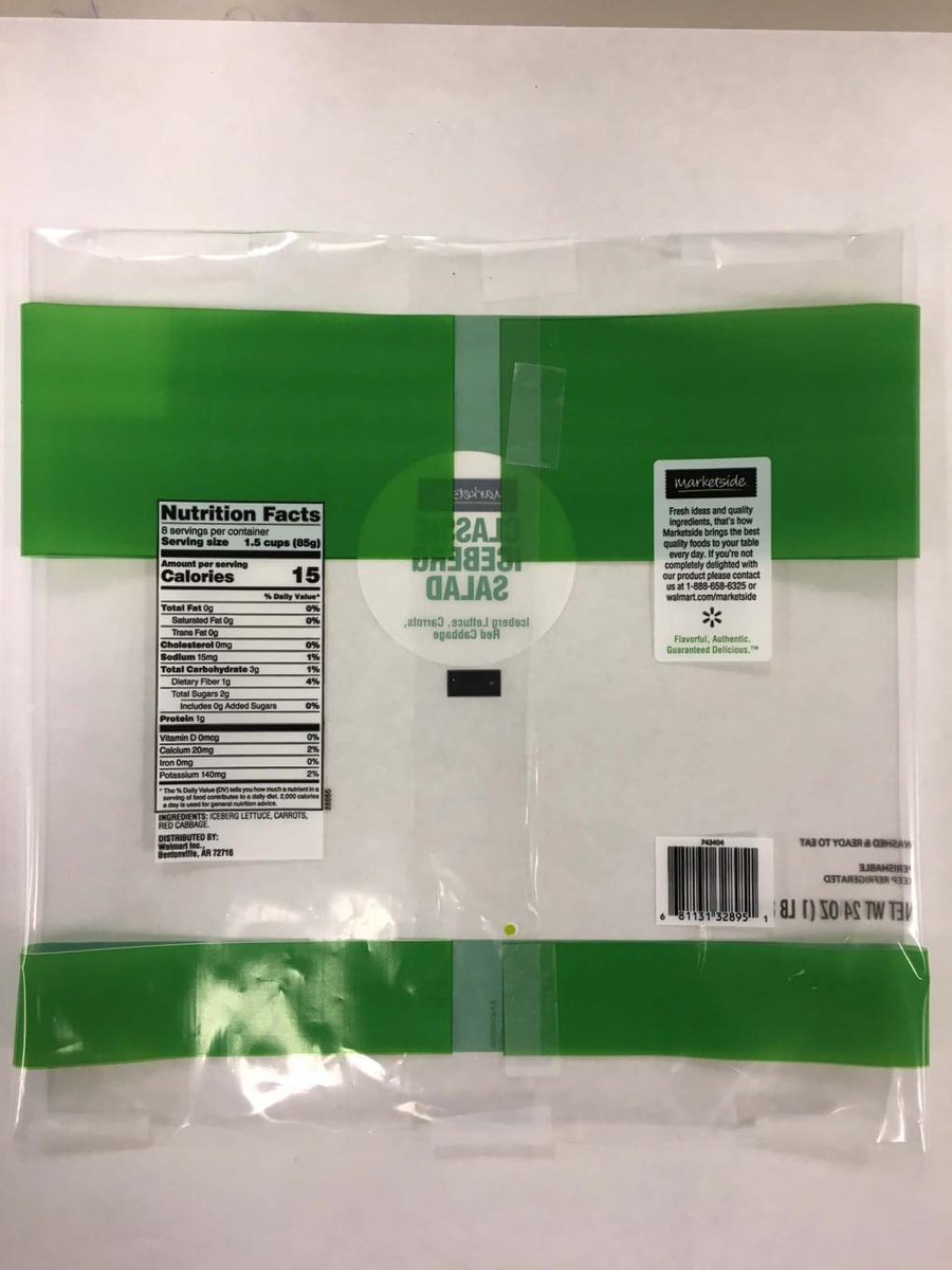 Fresh Express Voluntarily Issues Recall of Limited Quantity of Marketside Classic Iceberg Salad https://t.co/YQHgRTWeTg https://t.co/ZNCVVrYxRz