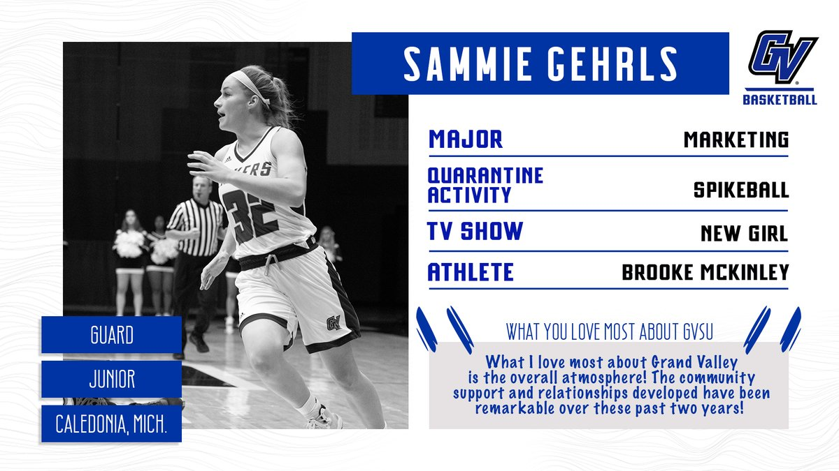 Player Profile: Junior Guard Sammie Gehrls  #AnchorUp 🏀 https://t.co/tIOiFNadTK