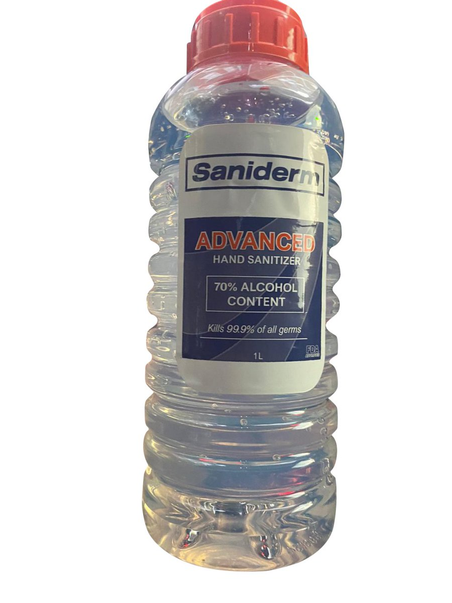 Saniderm Products Voluntarily Issues Regional (Virginia, Maryland, New Jersey) Recall of 1 L Saniderm Advanced Hand Sanitizer bottles produced by Eskbiochem SA de CV Due to the Potential Presence of Undeclared Methanol (Wood Alcohol) https://t.co/SoyYoeQaiF https://t.co/DwbhsIrma9