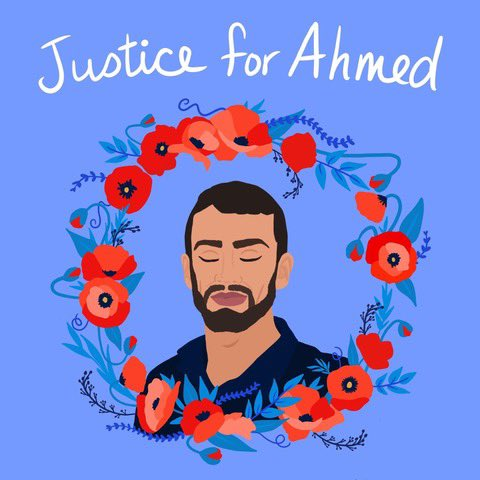 #JusticeForAhmed #AhmedErekat #Palestinian #Freedom