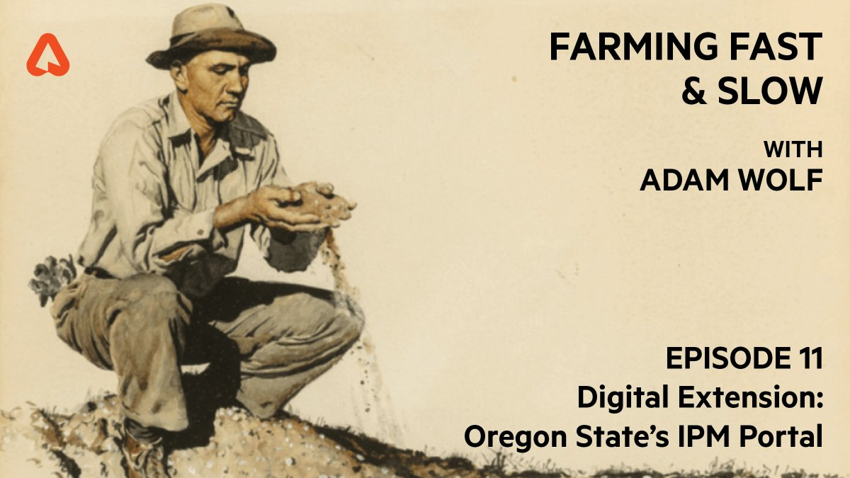 Image for the Tweet beginning: Tomorrow on #FarmingFastAndSlow guests Dr.