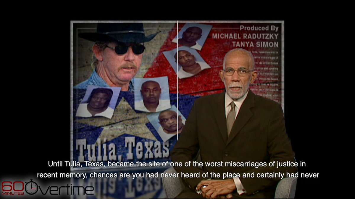 From 2003: In Tulia, TX, an undercover narcotics officer arrested 46 people, nearly all of them black, on charges of being cocaine dealers, and sent many of them to prison. Then, a judge accused him of being a liar, a thief and a racist. cbsn.ws/2YH51mP