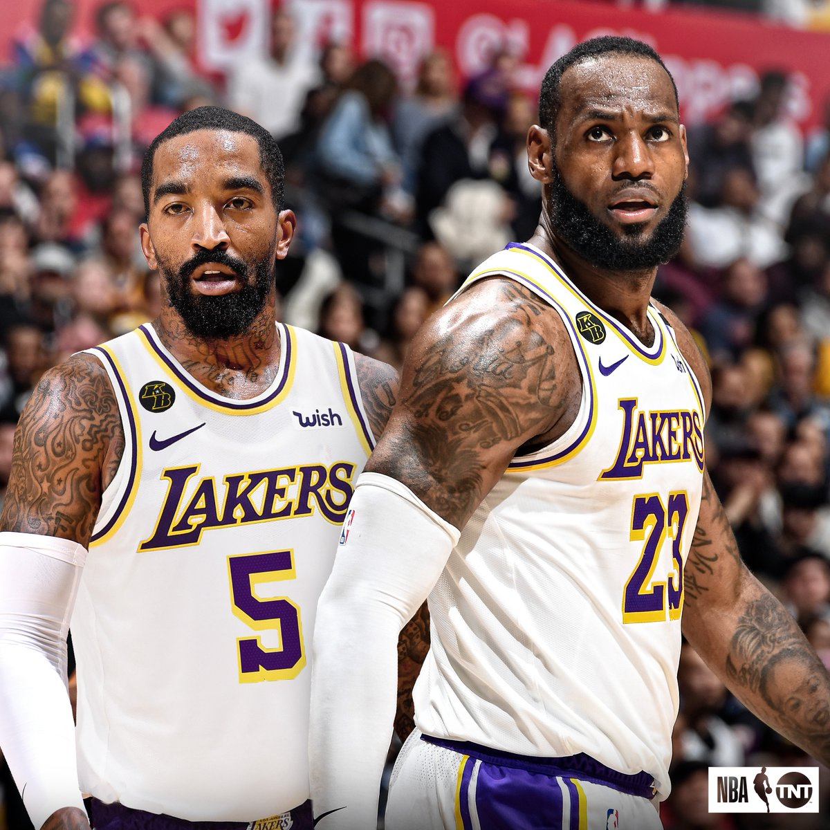 J.R. and LeBron are reuniting on the Lakers 👀 https://t.co/J2Om3IAd73