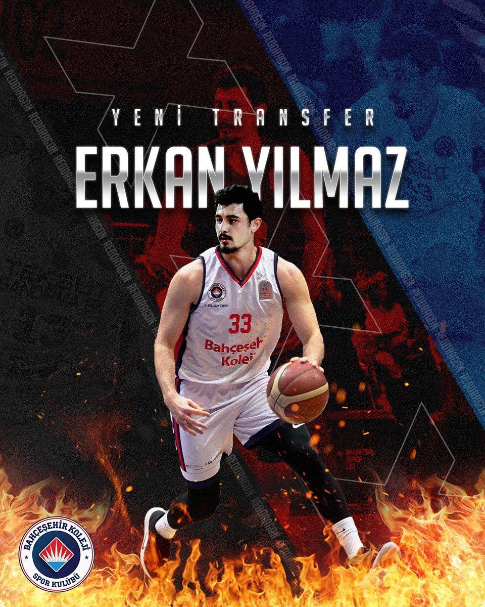 Ailemize hoş geldin Erkan Yılmaz👊🏻 Zorlu sezonumuzda enerjin gücümüze güç katacak🔥🐉  #BizBahçeşehiriz #FlyHighTogether #RedDragons @erkanyilmaaz https://t.co/vH3lB8wmUx