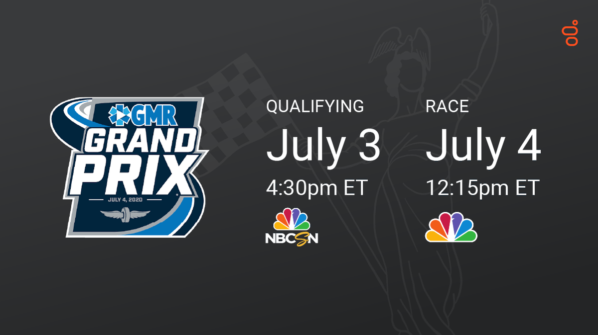 It's 𝙍𝘼𝘾𝙀 𝙒𝙀𝙀𝙆 at @IMS.🏎💨   (Feels good to get #BackOnTrack with @IndyCar.)  🗓️ July 4 ⏰ 12:15pm ET 📺 NBC 📸 @Hinchtown @FollowAndretti    #RacetotheCloud #INDYGP https://t.co/NEFakKyAqe