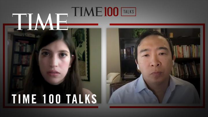"""""""Some of these issues are having disastrous effects on our democracy."""" @AndrewYang on the possibility of taking a cabinet role to help the federal government sort out its technology issues #TIME100Talks https://t.co/TpJiR1AIxE"""