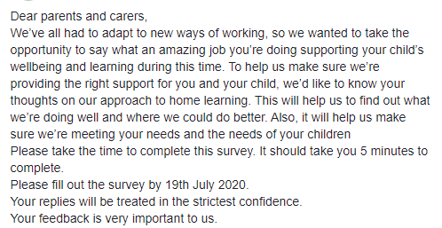 Dear parents and carers, bit.ly/SJPS-Remote