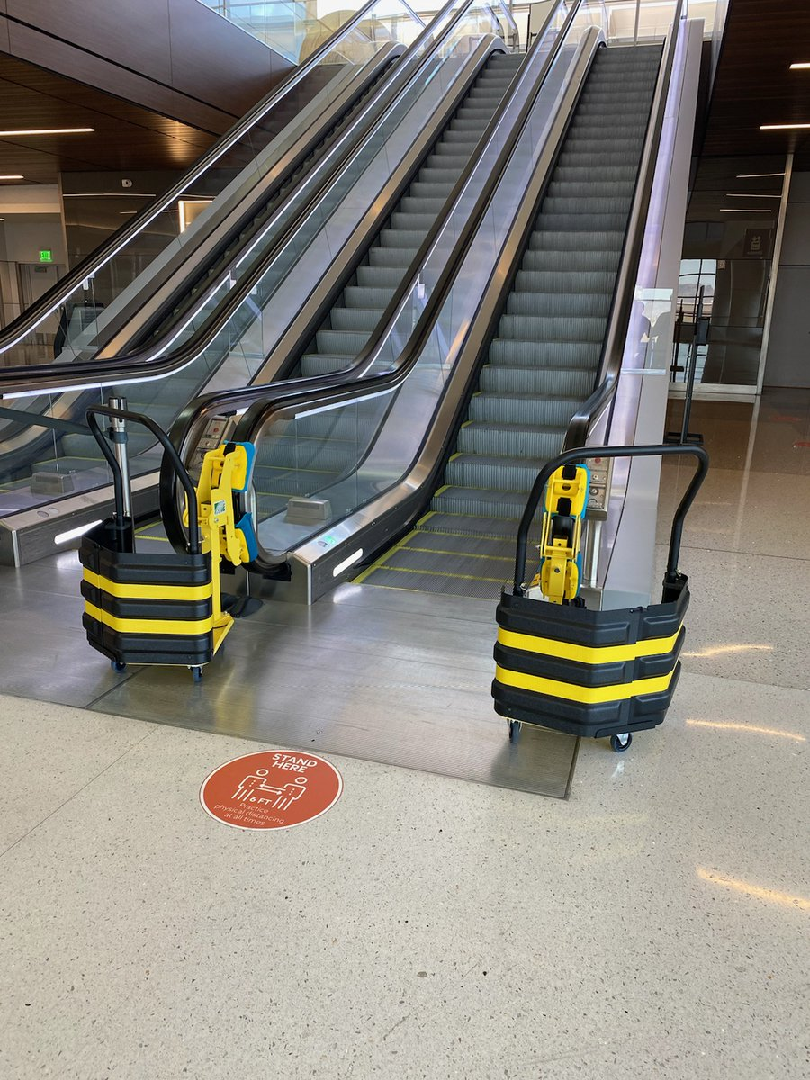 Fun fact – did you know we have a new set of handrail cleaners? To complement our robust sanitation schedule, these machines are set-up to clean both sides of the escalator handrails simultaneously, reducing the time needed for cleaning. https://t.co/EXTcpIFNsc