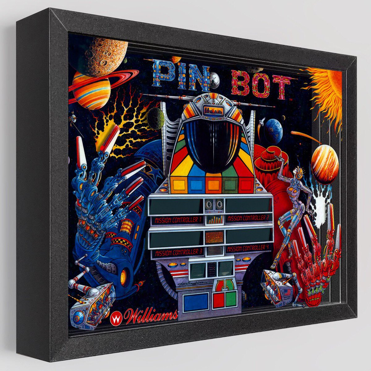 PIN•BOT Circuits Activated https://t.co/paFg018SgS #art #artwork #shadowbox #pinball #pinbot #robot #arcade #game #gamer #gamergirls #gamerguy #pinballmachine #retro #pinballart #pinballlife #decor #gameroomdecor #williams #fun #3d https://t.co/0bfxDgDbd0