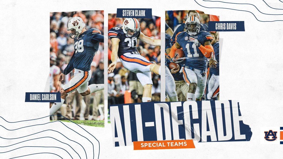 Introducing our 2010s All-Decade Team Specialists! #WarEagle