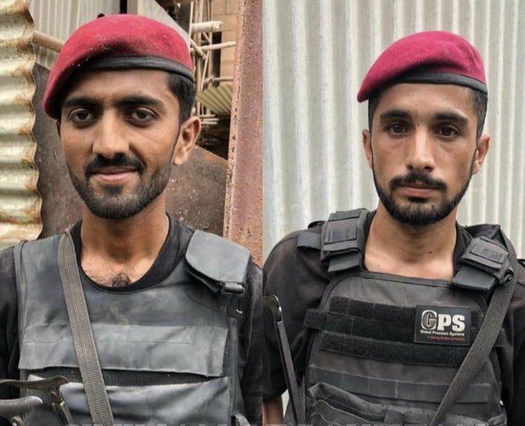 Salute to these two heroes Constable Rafiq and Constable Khalil #proudofpakistan  #ShaanePakistan  #PakistanZindabad https://t.co/RMXxKLvxcI