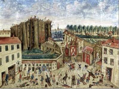 Claude Cholat fue testigo directo de la Toma de la #Bastilla y la pintó así.  #Francia  http://cristinadelrosso.blogspot.com  http://cristinadelrosso.com  #arte #pintura #ArteYArt #artlover #artcollectorspic.twitter.com/sNeHVjFHBK